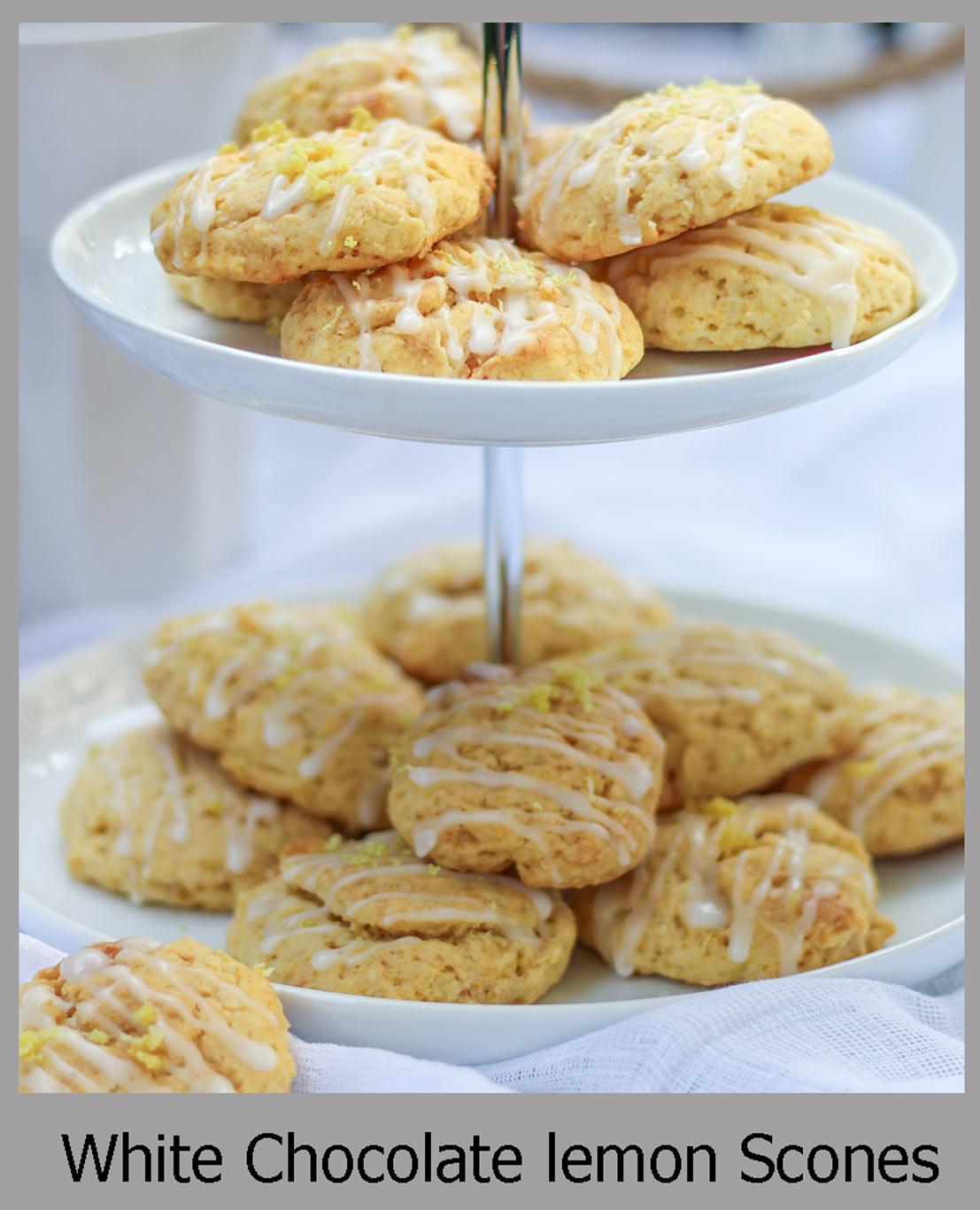 White Chocolate Citrus Spice Eggnog Cookies Recipe — Dishmaps