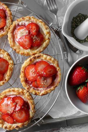 Erdbeer-Ricotta-Galettis