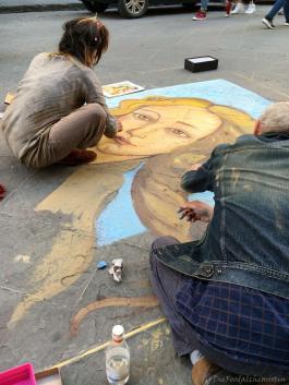 Straßenmaler