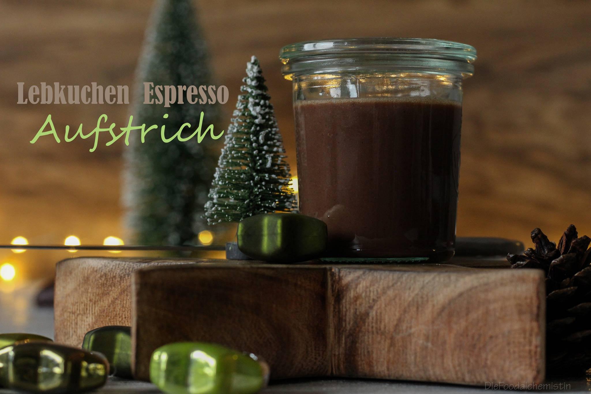 Lebkuchen Espresso Aufstrich
