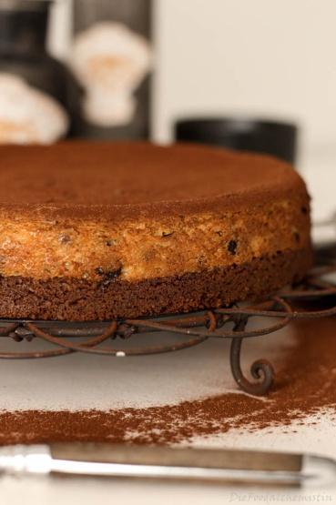 Schoko-Espresso-Cheesecake