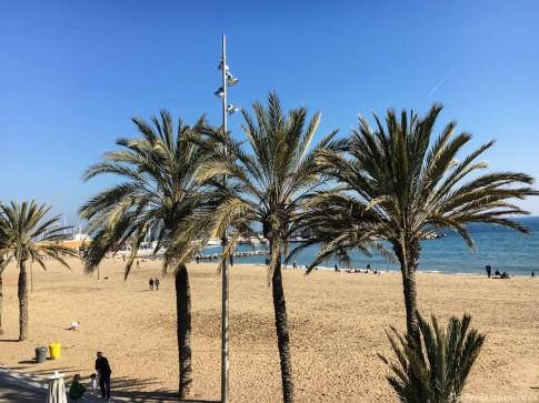 Strand von Barcelonata