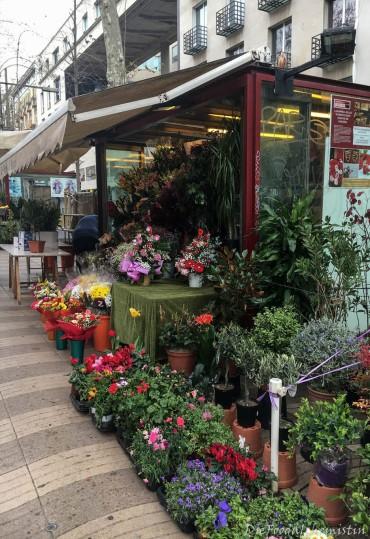 La Rambla Blumenstand