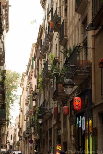 Balkone von Barcelona