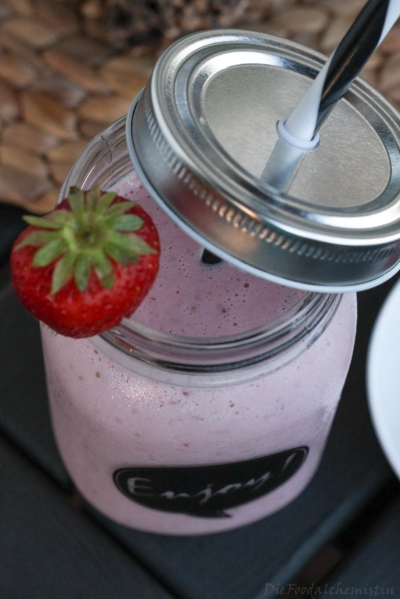 Erdbeer-Kokos-Slush