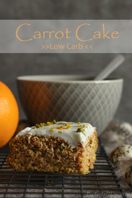 Carrot Cake Low Carb