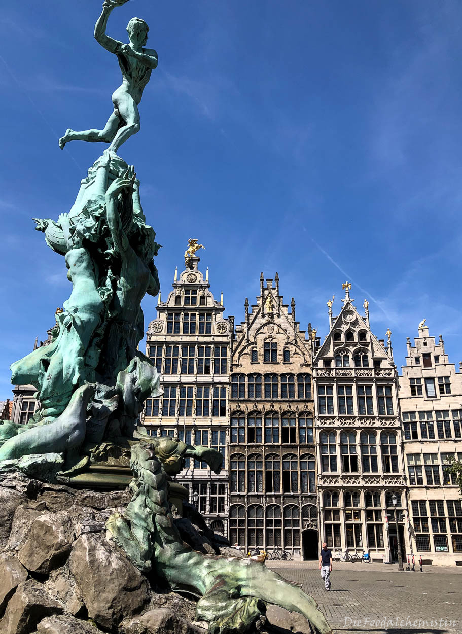 Antwerpen – meine Schokoladentour #von unterwegs