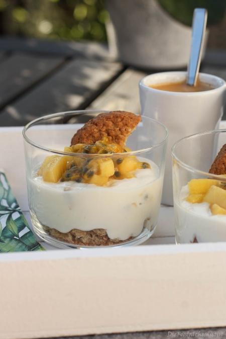 Joghurt-Mango-Cremedessert