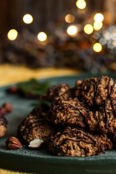 Haselnuss-Chai-Cookies