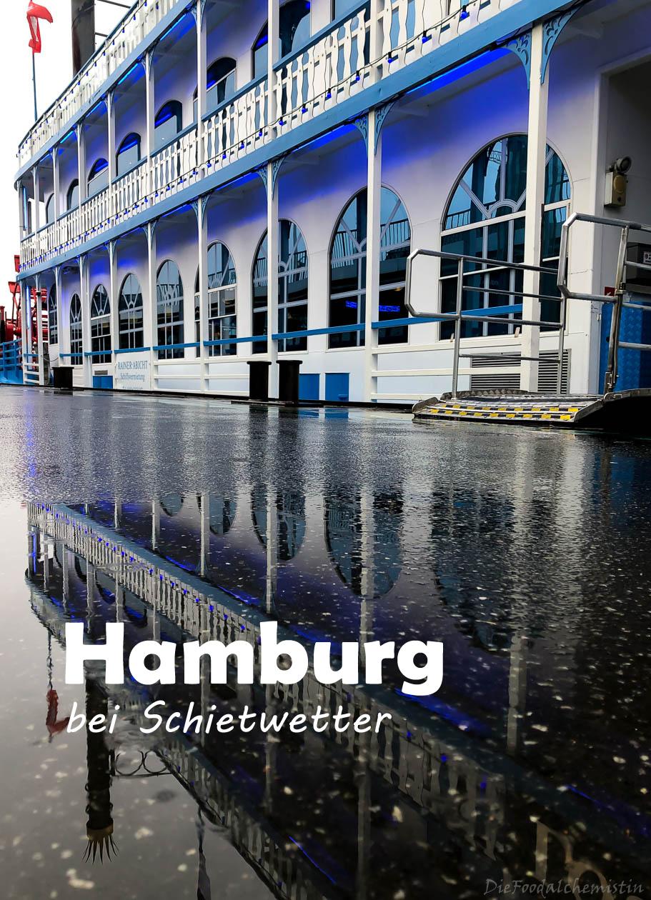 Hamburg bei Schietwetter #von unterwegs
