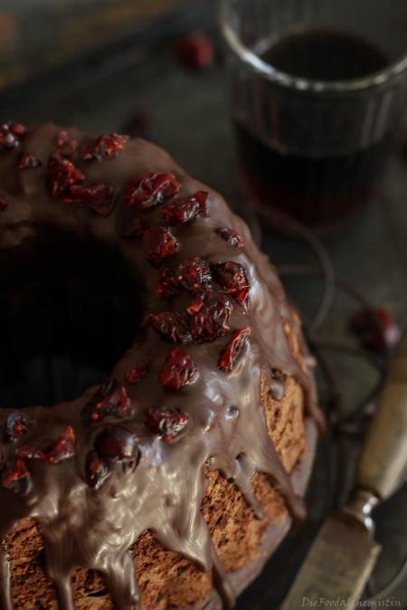 Schokoladen-Rotwein-Kuchen