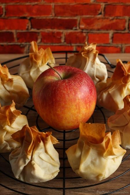 Apfel-Quark-Päckchen