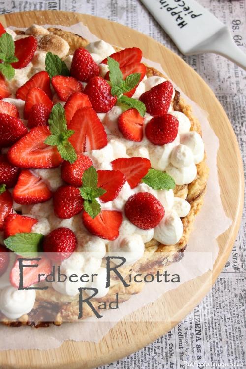 Erdbeer-Ricotta-Rad