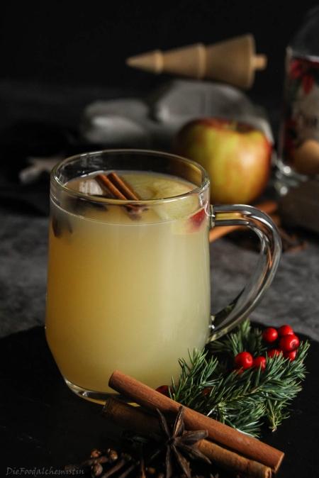 Apfel-Glüh-Gin