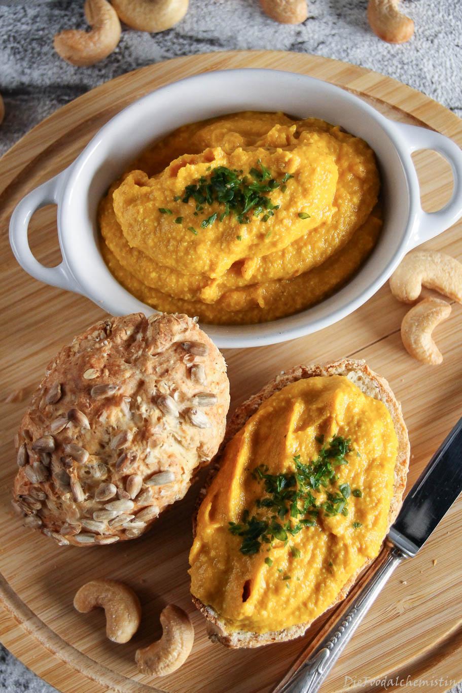 Karotten-Cashew-Aufstrich2